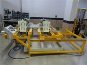 Сверлильная машина с 4мя головками для натурального камня