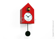 Настенные часы от итальянской компании Progetti Freebird Badass Wall