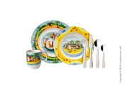 Безопасный набор детской посуды Villeroy & Boch коллекция Chewy's Trea