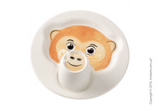Красивый набор детской посуды Villeroy & Boch коллекция Animal Friends