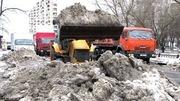 Уборка снега Киев. Вывоз снега Киев
