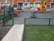 Забор из сетки для парковых зон и скверов. Ограждение сварное Барьер.