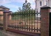 Купить забор для дачи кованый,  ограждение кованое металлическое Киев