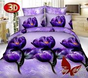 Купить комплект недорого постельного белья,  Полисатин PS-HL135