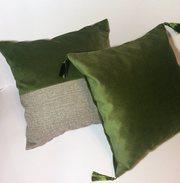 Декоративные подушки,  мебельные ткани