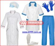 Медицинская одежда и обувь