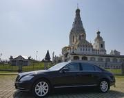 Аренда авто с водителем в Минске. Mercedes W221 S500 Long