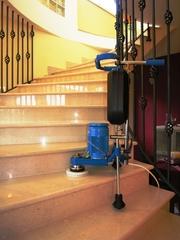 Шлифовка,  полировка мраморных,  гранитных полов,  лестниц,  стен и пр.