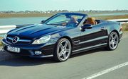 Mercedes SL500 черный аренда