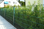 Забор для дачи секционный из сварной сетки Кольчуга. Все типы заборов.