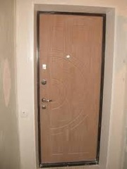 обшивка откосов входной двери