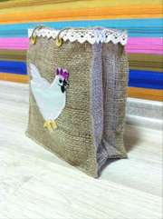 эко сумки из мешковины