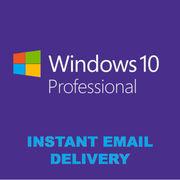 Лицензионный ключ Windows 10 PRO 32/64 bit Цифровая лицензия RETAIL KE
