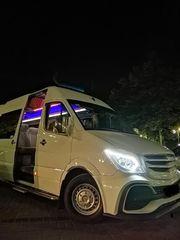 Пассажирские перевозки Люкс уровня микроавтобус 21 место