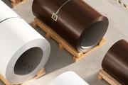 Окрашенная сталь Metipol в рулонах